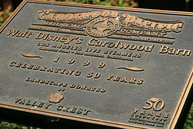Dedication Plaque | Carolwood.org
